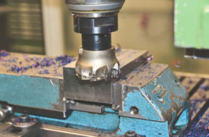 Picture of milling block for Off-The-Shelf-vs-Custom-Equipment Blog