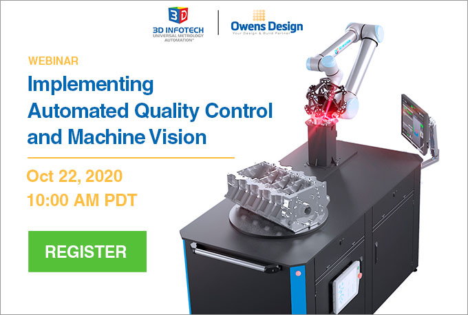 Webinar Implementing Automated Quality Control and Machine Vision